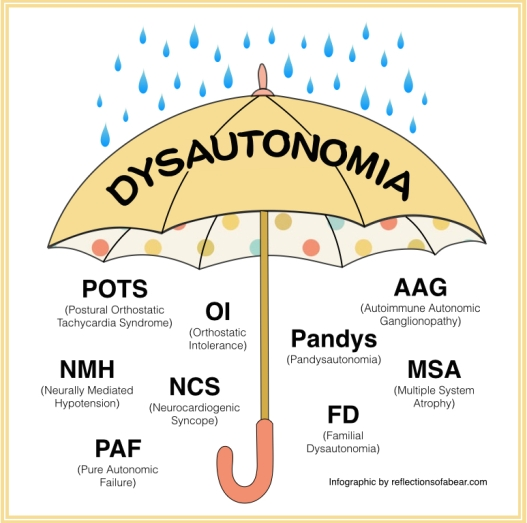 dysautonomia umbrella graphic